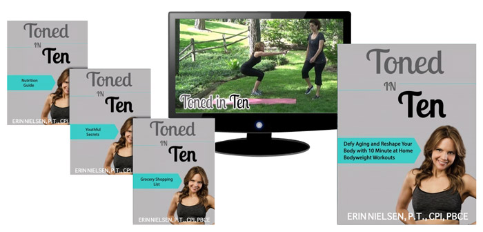 toned in ten program I use